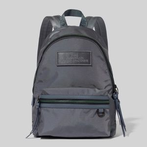 MARC JACOBS Medium Nylon Backpack - Dark Grey